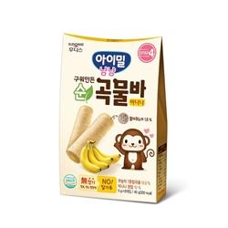 ILDONG 香蕉味穀物棒40克(5克x8) 551795