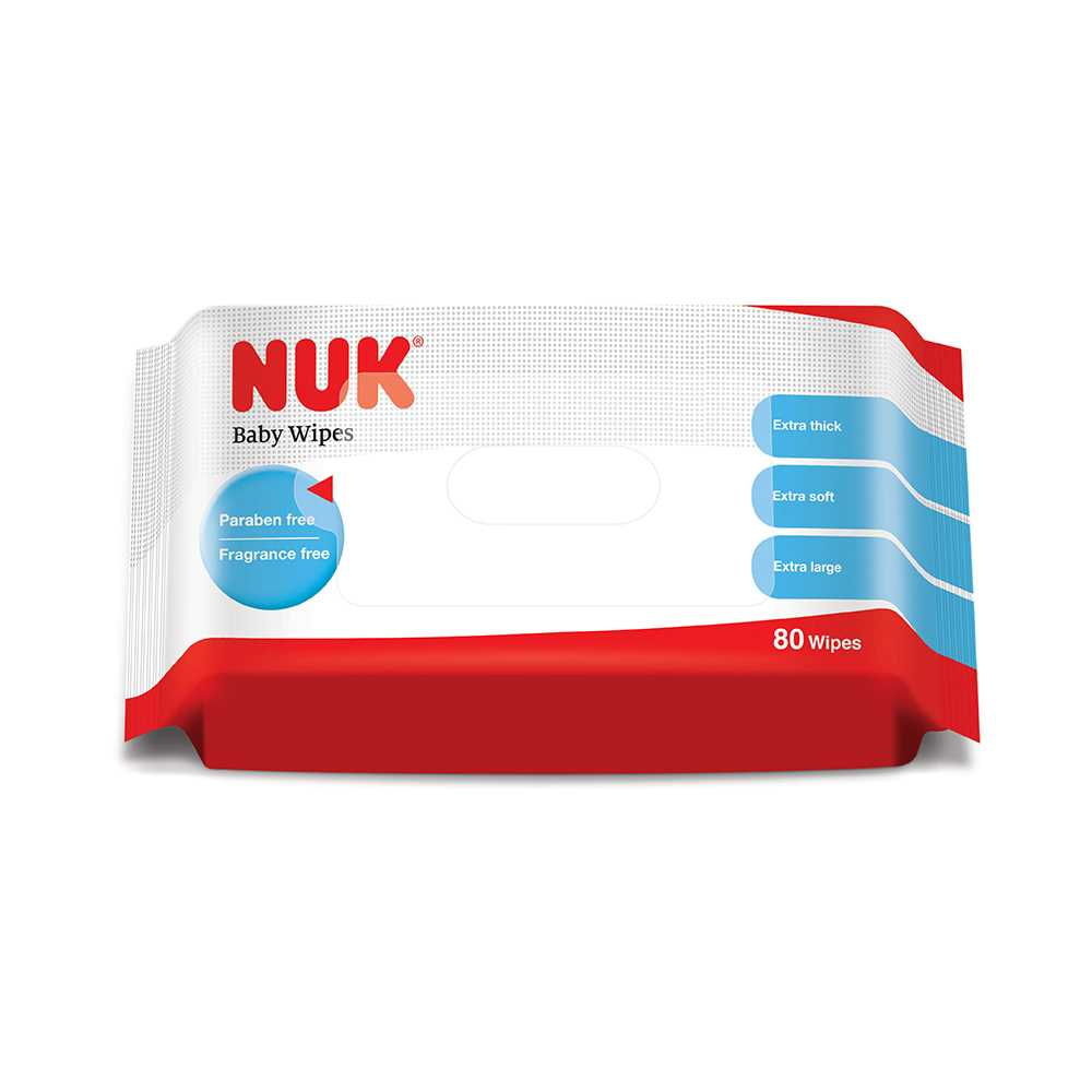 NUK 濕紙巾40272801(80片)--永安網店