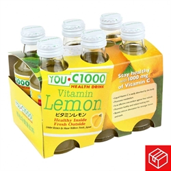 YOU C1000維他命C飲品-檸檬30支(1箱)